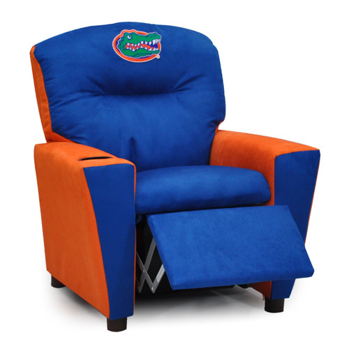 Kidz World ''All American'' Collegiate Kids Recliner with Cup Holder