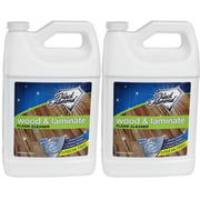 WOOD AND LAMINATE FLOOR CLEANER: For Hardwood, Real, Natural & Engineered Flooring ?Biodegradable Safe for Cleaning All Floors. Black Diamond Stoneworks (2-Gallons)