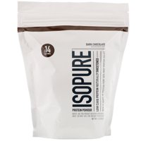 Isopure Low Carb Protein Powder, Dark Chocolate, 1 lb (454 g)