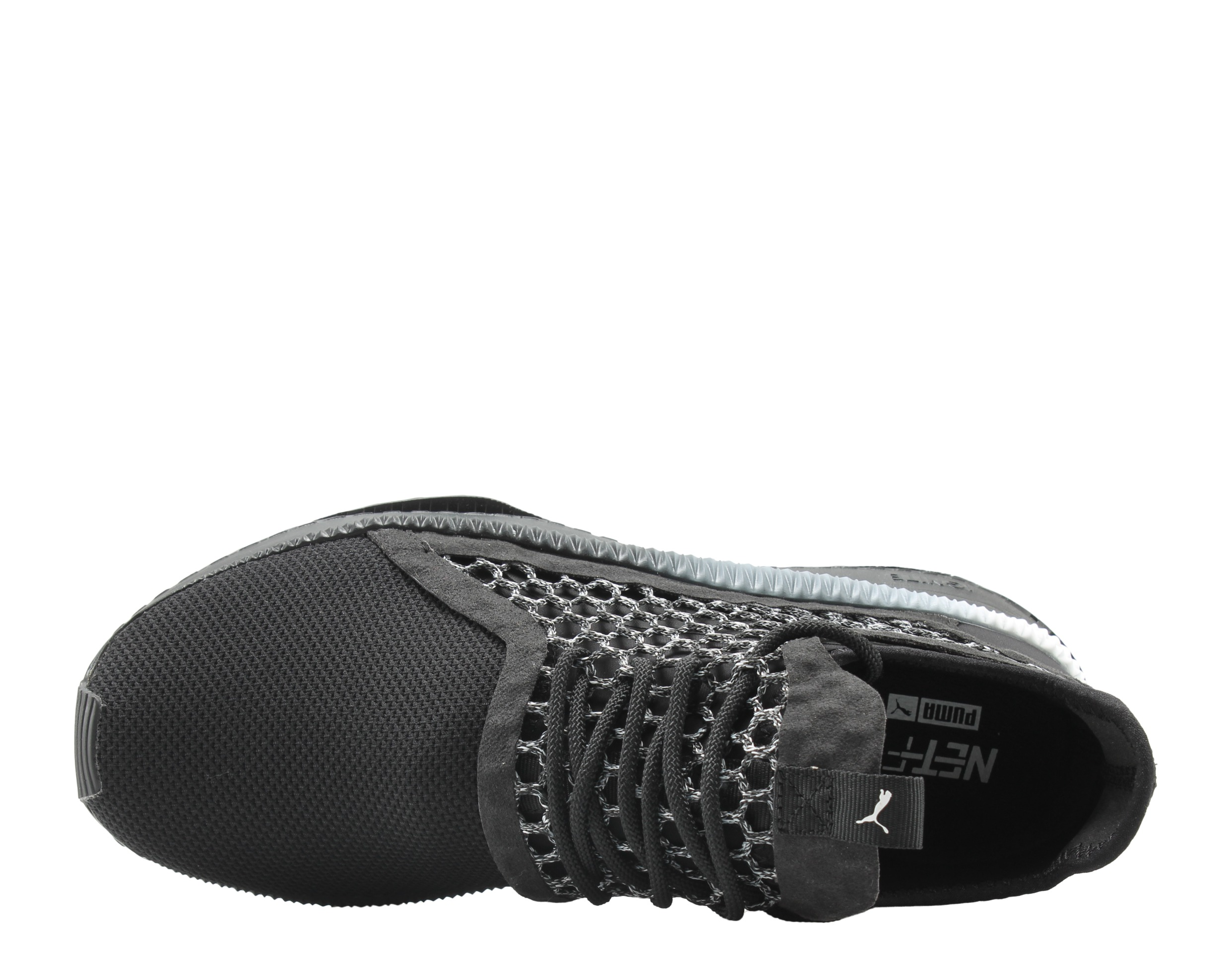04f0811d762dcd PUMA - Puma Tsugi Netfit V2 Black-White-Black Men s Running Shoes 36539802  - Walmart.com