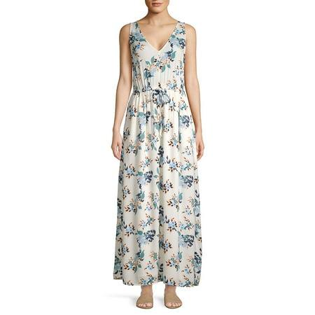 Floral-Print Maxi Dress ()