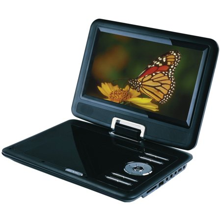 Curtis Sylvania Sdvd9000b2 9 Inch Portable Dvd Player With Car Bag Kit Swivel