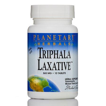 Laxatif Triphala 865 mg - 10 comprimés par Planetary Herbals
