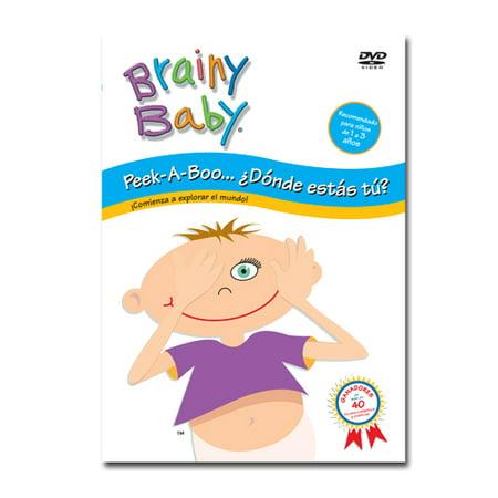 Brainy Baby  Peek A Boo In Spanish  Donde Estas Tu  Dvd