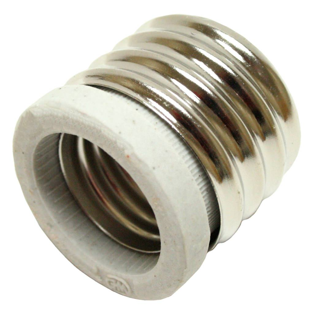 Litetronics 63740 - Mogul Screw (E40) Base to Medium Screw (E26) Base Reducer (E26-E40)