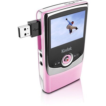 Kodak Zi6 Pink Pocket Video Camcorder (Pocket Camera Samsung)