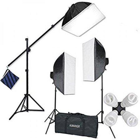 Single Softbox Kit - StudioFX H9004SB2 2400 Watt Large Photography Softbox Continuous Photo Lighting Kit 16