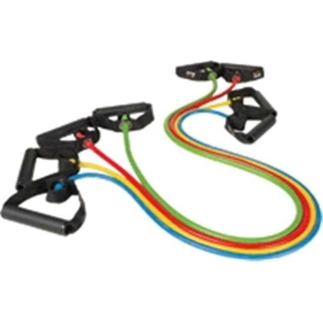 Body Sport ZZR147BMD Studio Series Fitness Performance Tube, Yellow - Medium