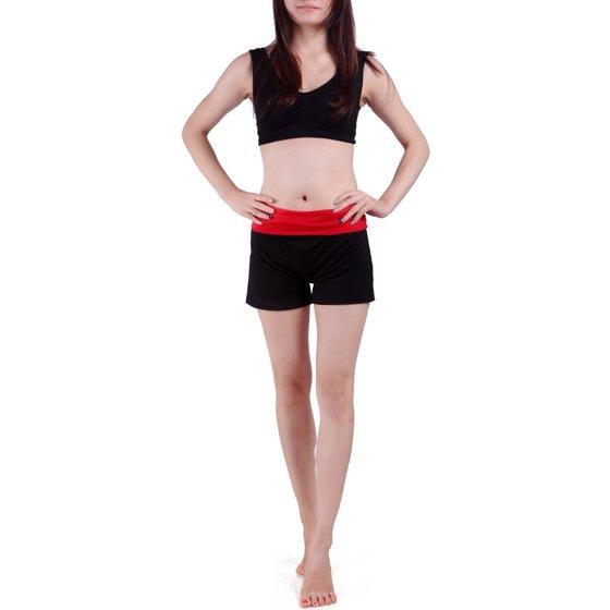 HDE Women's Yoga Workout Shorts Exercise Mini Hot Gym