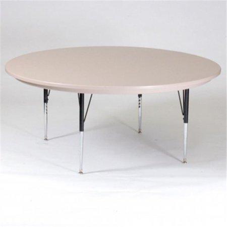 Correll Inc  60 Round Blow Mold Top Activity Table Crlar60rnd23