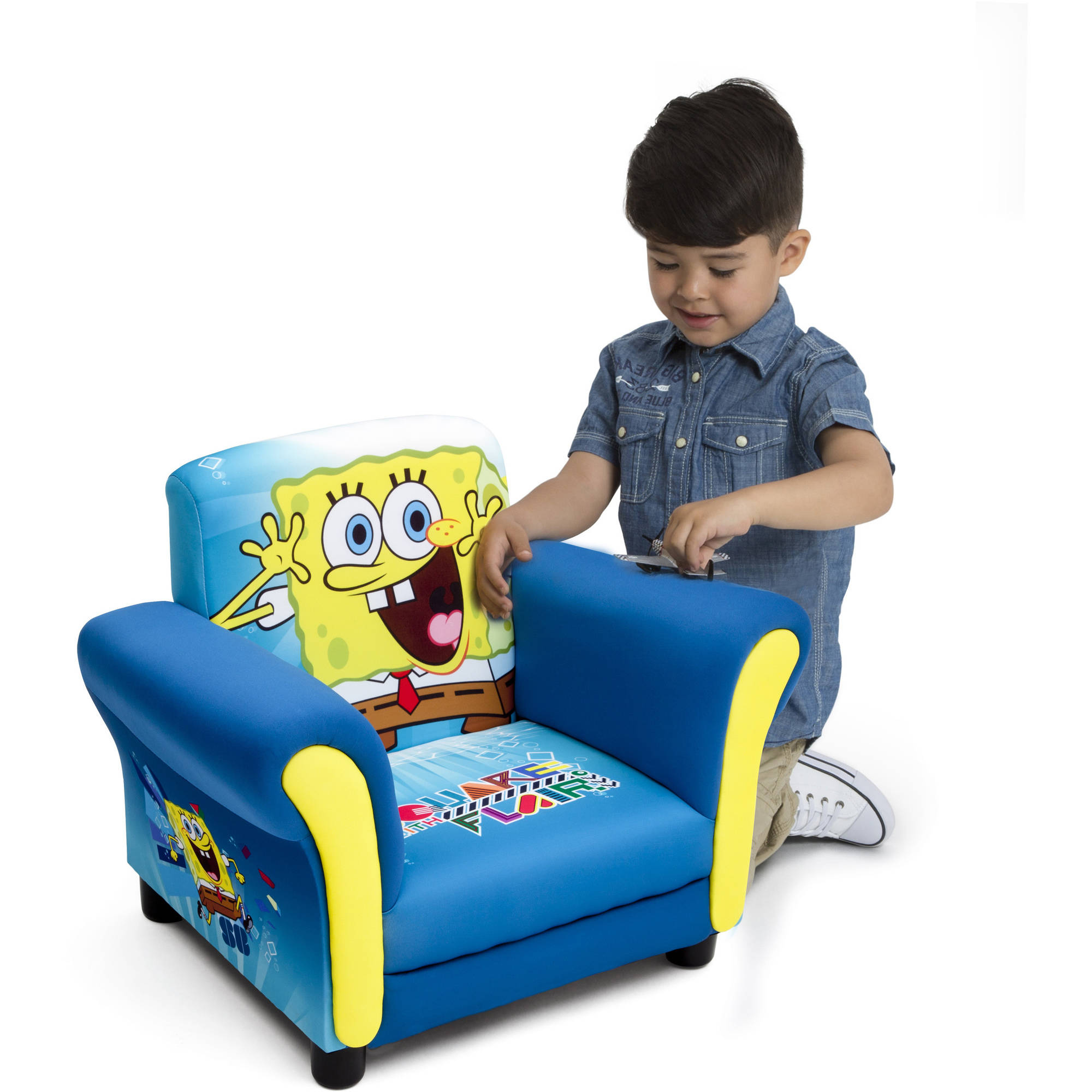 Delta Children's Products Nickelodeon SpongeBob Upholstered Chair by Nickelodeon