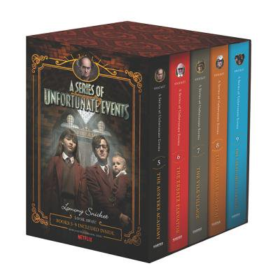 A Series of Unfortunate Events #5-9 Netflix Tie-In Box
