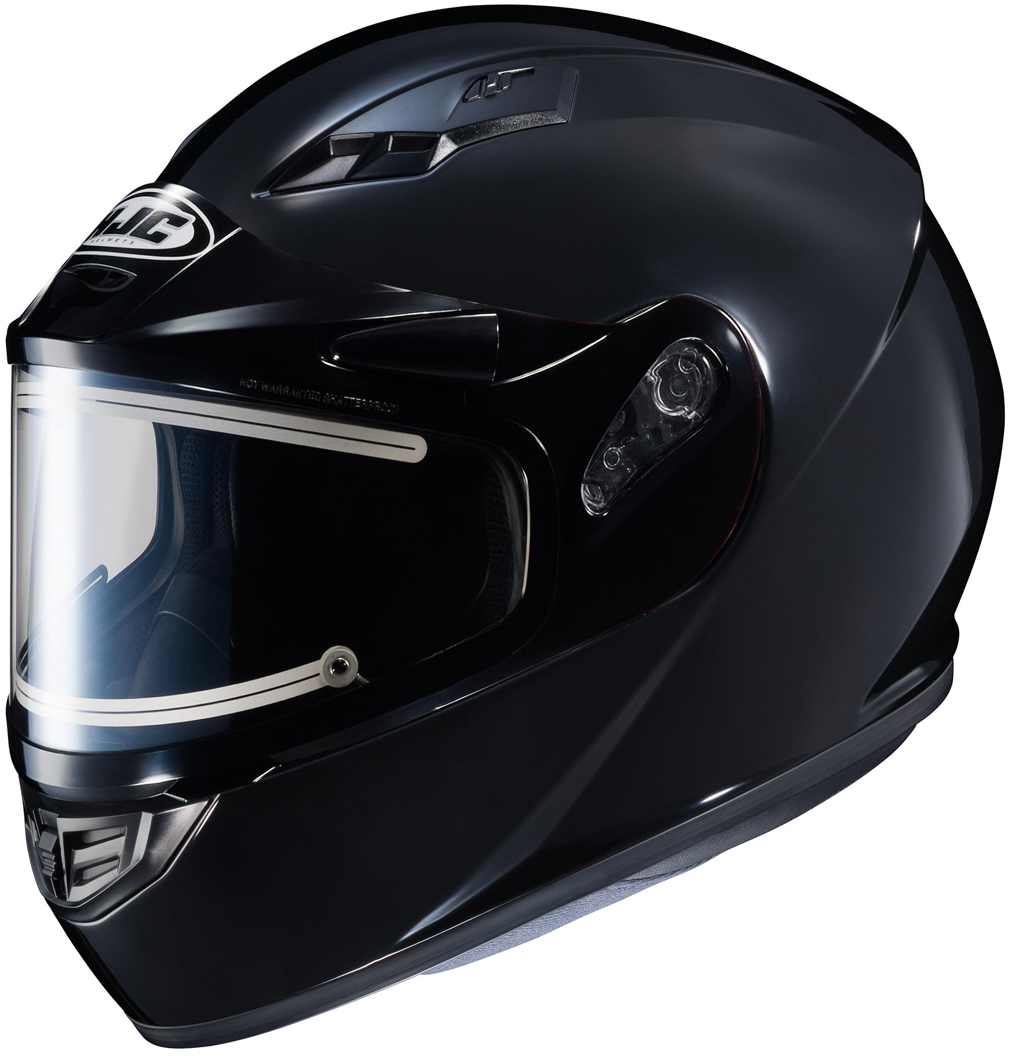 HJC CS-R3 Solid Snow Helmet with Electric Shield