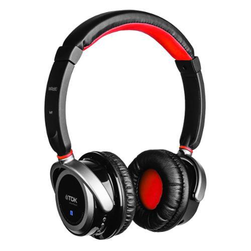 TDK WR680 Wireless Bluetooth Stereo Headphones - Black