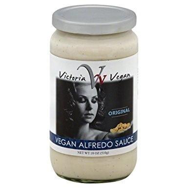 Victoria Vegan Original Vegan Alfredo Sauce 18 Oz Pack Of 6 Walmart Com Walmart Com