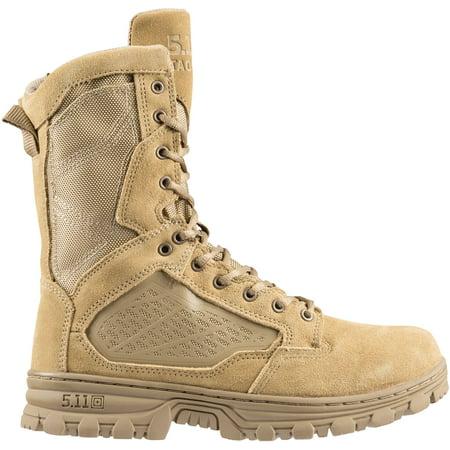 5.11 Tactical Men's Evo 8†Side Zip Tactical Boots, Desert, 8