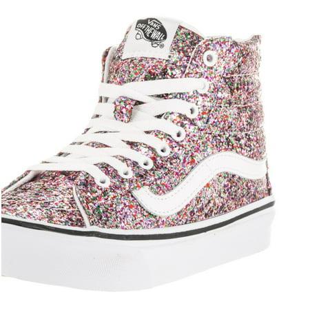 f143911383 Vans - Vans Unisex Sk8-Hi Slim Zip (Chunky Glitter) Skate Shoe - Walmart.com