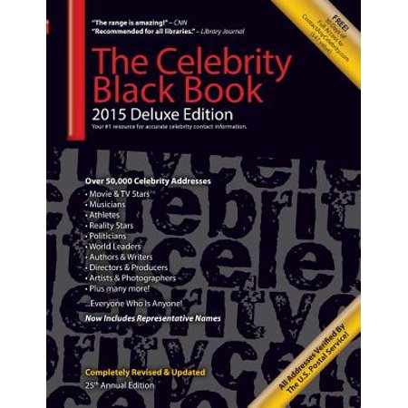 The Celebrity Black Book 2015 (Paperback)