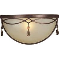 1-Light Antique Bronze Mini Pendant
