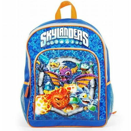 Skylanders 16 inch Backpack with Side Mesh -