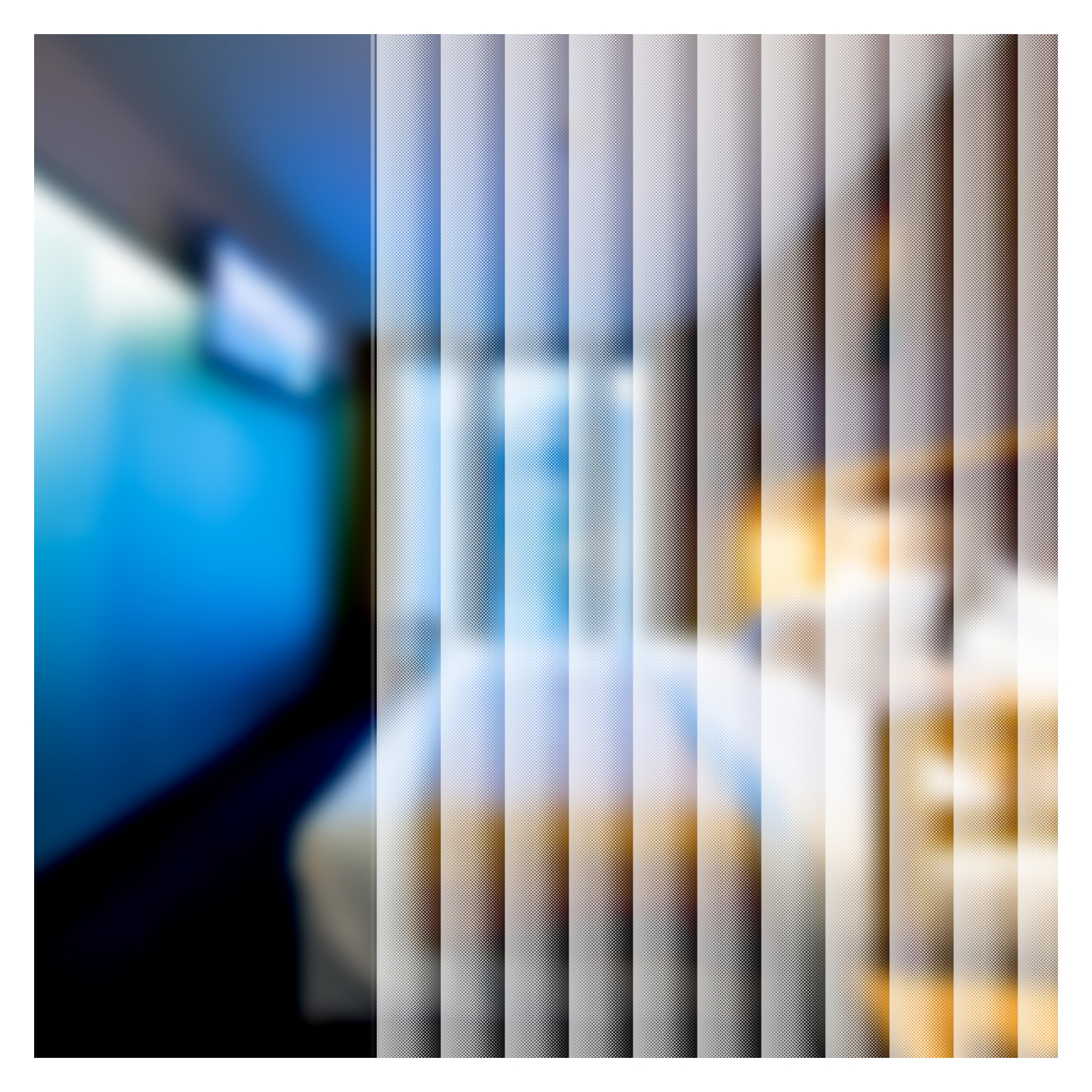 BDF 4CD Curtain Dot Decorative Window Film 25in X 7ft by BuyDecorativeFilm