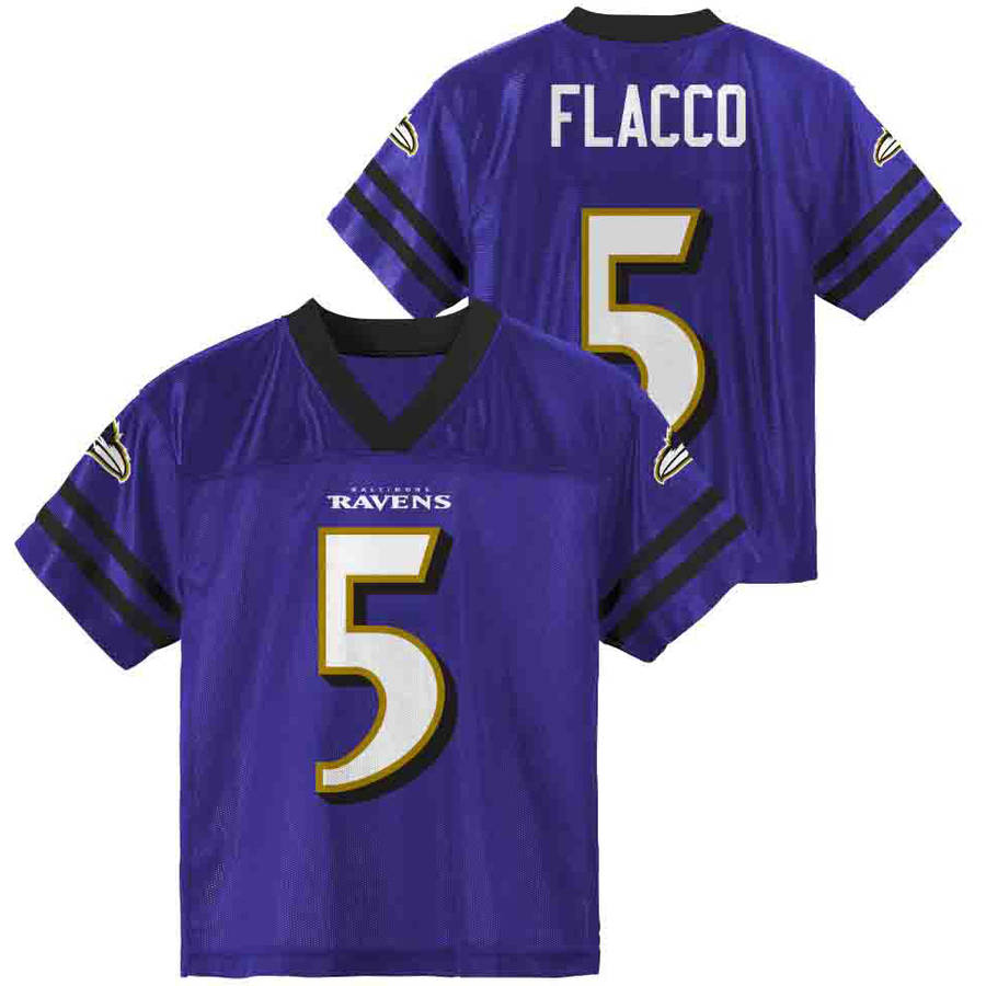 NFL Baltimore Ravens Toddler Joe Flacco Jersey