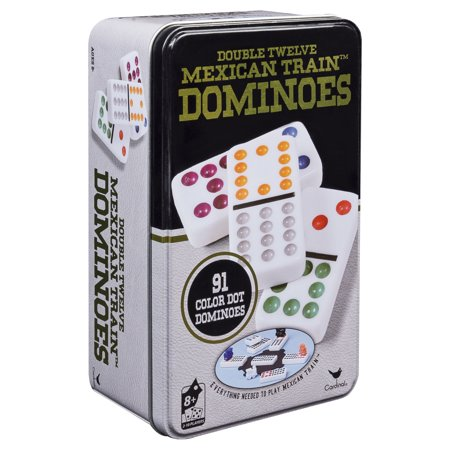 Double Twelve Mexican Train Dominoes in (Double 12 Professional Domino)