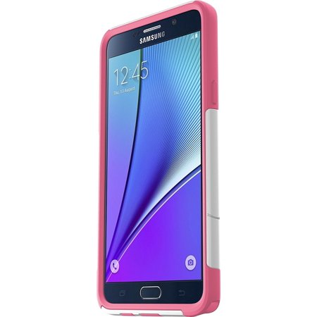 OtterBox COMMUTER SERIES Case for Samsung Galaxy NOTE 5 - Retail Packaging - Hibiscus (Otterbox Commuter Case For Samsung Galaxy Note 3)