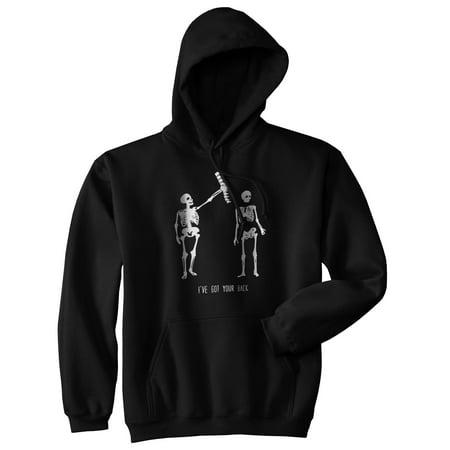 crazy dog tshirts - got your back funny spine skeleton best friend relationship unisex