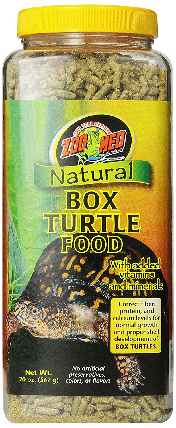 Natural Box Turtle Food, 20-Ounce, All natural By Zoo Med by