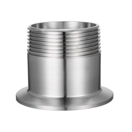 "1/2"" NPT Male Thread Pipe Fitting to TRI CLAMP (OD 64mm Ferrule)"