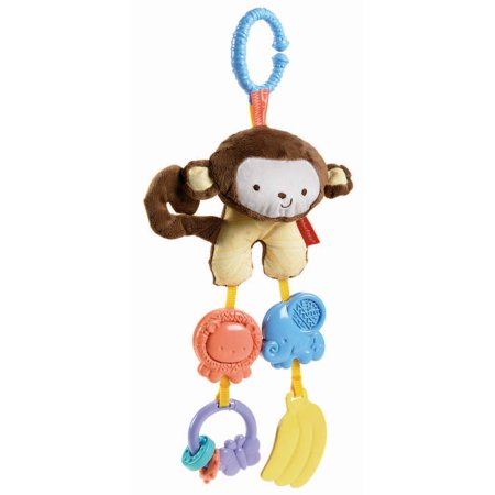 Fisher Price My Little SnugaMonkey Stroller Rattle Monkey, Baby toy By