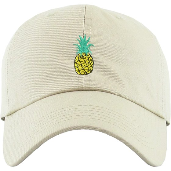 79778004c6a2a Pineapple Pink Dad Hat Baseball Cap Polo Style Unconstructed Adjustable  Banana Guac Grape Melon Berry Lemon Lime Weed Marijuana Cannabis -  Walmart.com