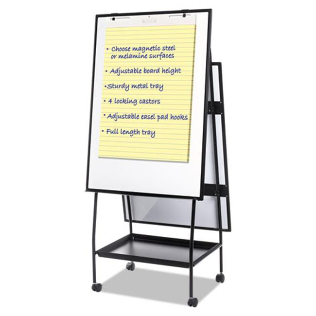 BVC EA49125016 Mastervision Creation Station Easel Silver Easy Clean Dry Erase