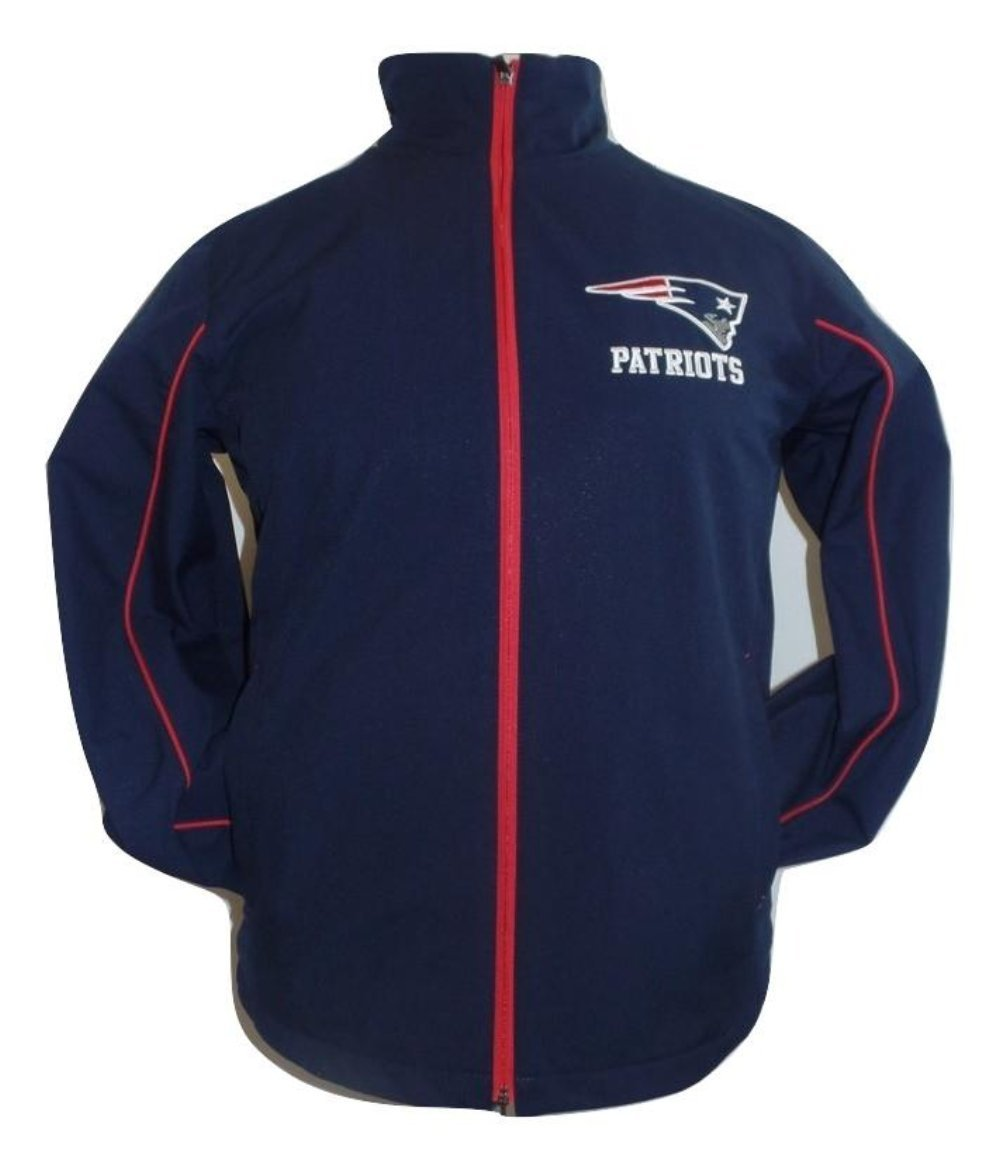 """New England Patriots Men's """"Super Bowl"""" Soft Shell Full Zip Jacket by G-III Sports"""
