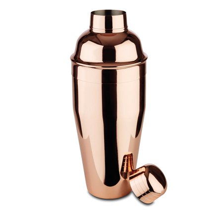 Paderno World Cuisine APS 0.5l Stainless Steel Cocktail Shaker w/ Copper Finish