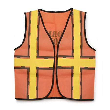 """Darice 15.9"""" by 18.8"""" Dress Up Vest, Construction Worker - image 1 of 1"""