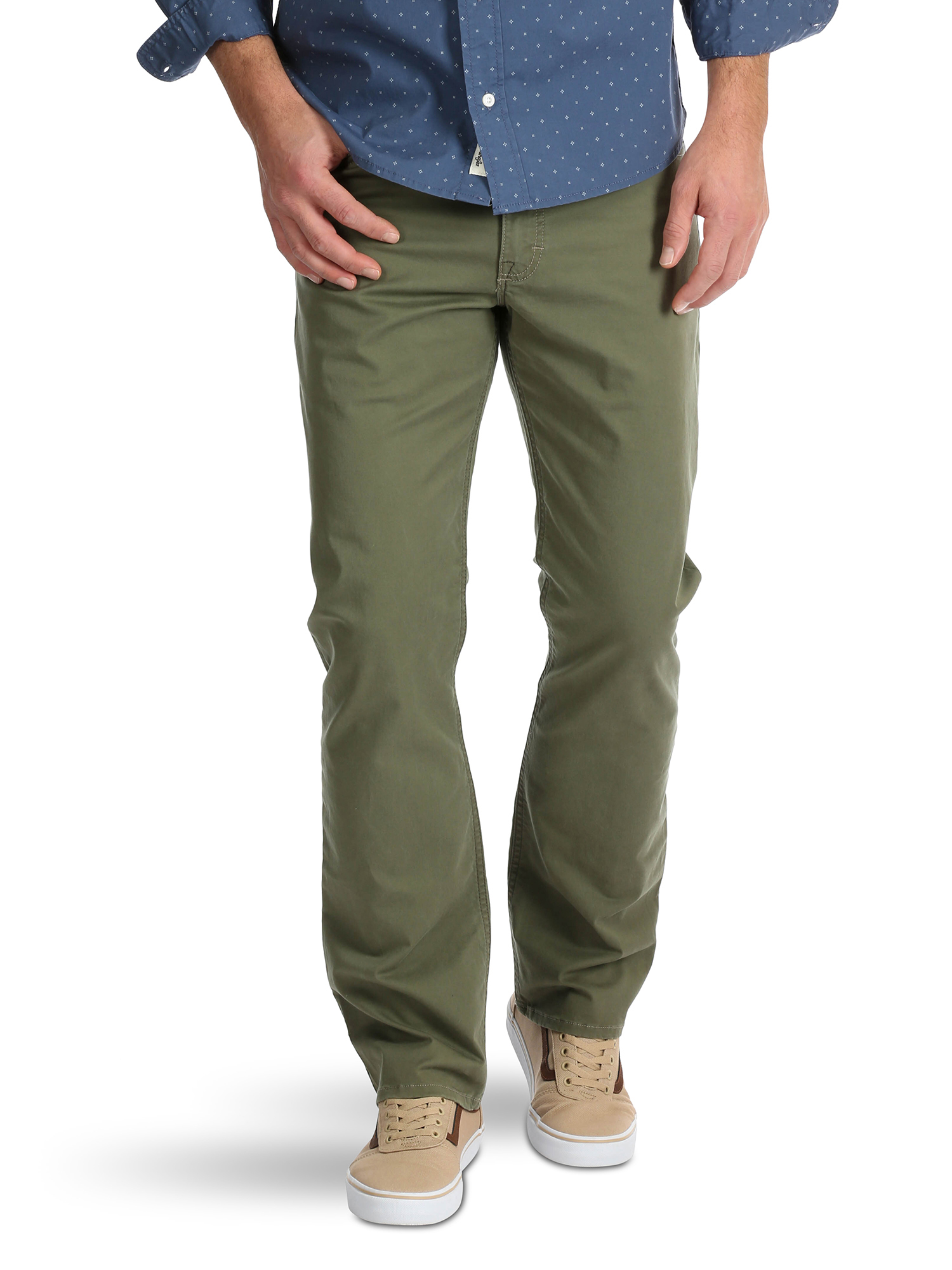 Big Men's Straight Fit 5 Pocket Pant