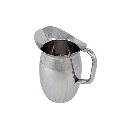 Update International 2 Qt. Stainless Steal Bell Pitcher