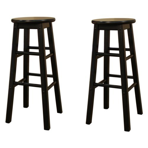 AHB Classic Bar Stools - Set of 2