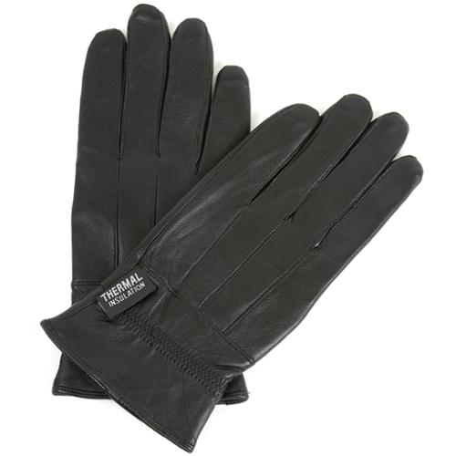 AlpineSwiss Womens Touchscreen Gloves Genuine Leather Texting Soft Dress Mittens Black Size Small