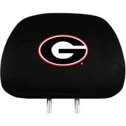 Georgia NCAA Head Rest Cover