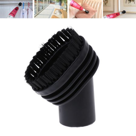 Home Use Mixed Horse Hair Oval Cleaning Brush Head Vacuum Cleaner Accessories Tool 32mm (Hair Brush Cleaner Tool)