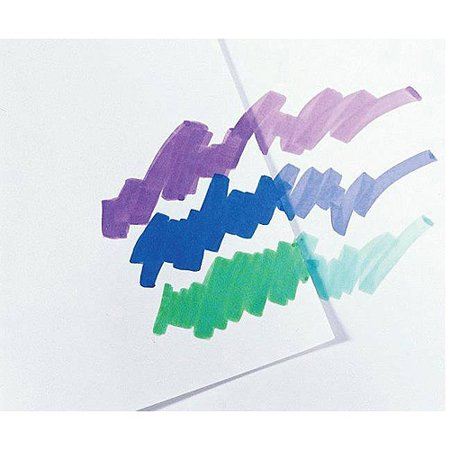 """Sax True Flow Multipurpose Coated Drawing Paper, 12"""" x 18"""", White, Pack of 100"""