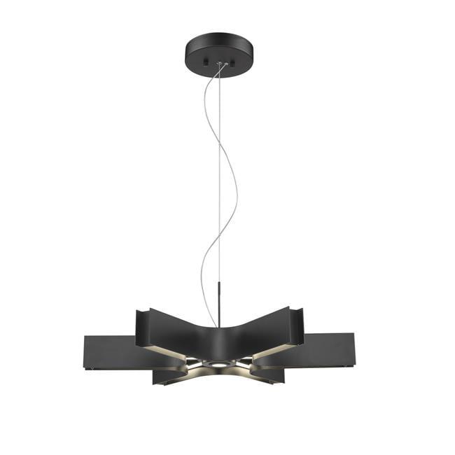 Z Lite 8002-24MB-LED 3 x 24.75 x 24.75 in. 6 Light Pendant, Matte Black - image 1 of 1