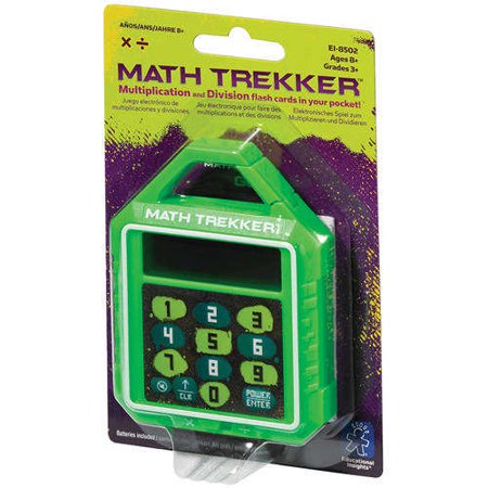 Educational Insights Math Trekker Multiplication/Division, Grades 3+ - Halloween Math Multiplication Games