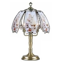 "ORE International 23.5"" Hummingbirds Touch Lamp"