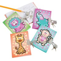 Mini Journals W/ Lock - Stationery - Notepads - Notepads - 12 Pieces