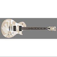 ESP LTD WA-200 Willie Adler Signature Electric Guitar (White Camo)