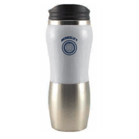 UC Berkeley Cal Fusion Coffee Tumbler Stainles steel14 Oz - WHITE